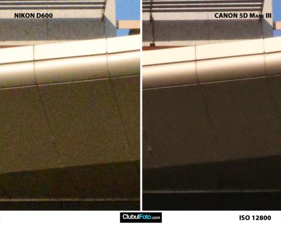 Nikon D600 vs. Canon 5D III iso-12800