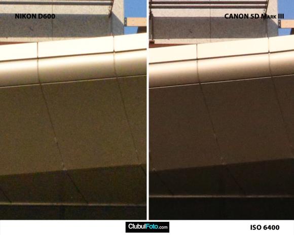 Nikon D600 vs. Canon 5D III iso-6400