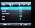 Meniu Samsung NX20