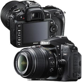 Nikon D90 cu filmare HD