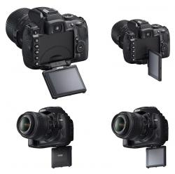 Nikon D5000. Ecran rabatabil!