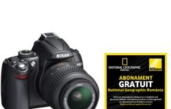 Nikon D5000 Kit + Abonament Nat. Geographic