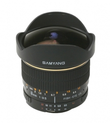 Samyang 8mm F/3.5 fisheye