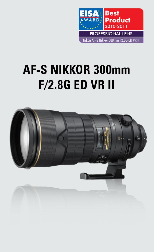 Nikkor 300mm f/2.8G ED VR II