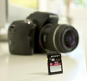 Noile carduri SD de la Sony