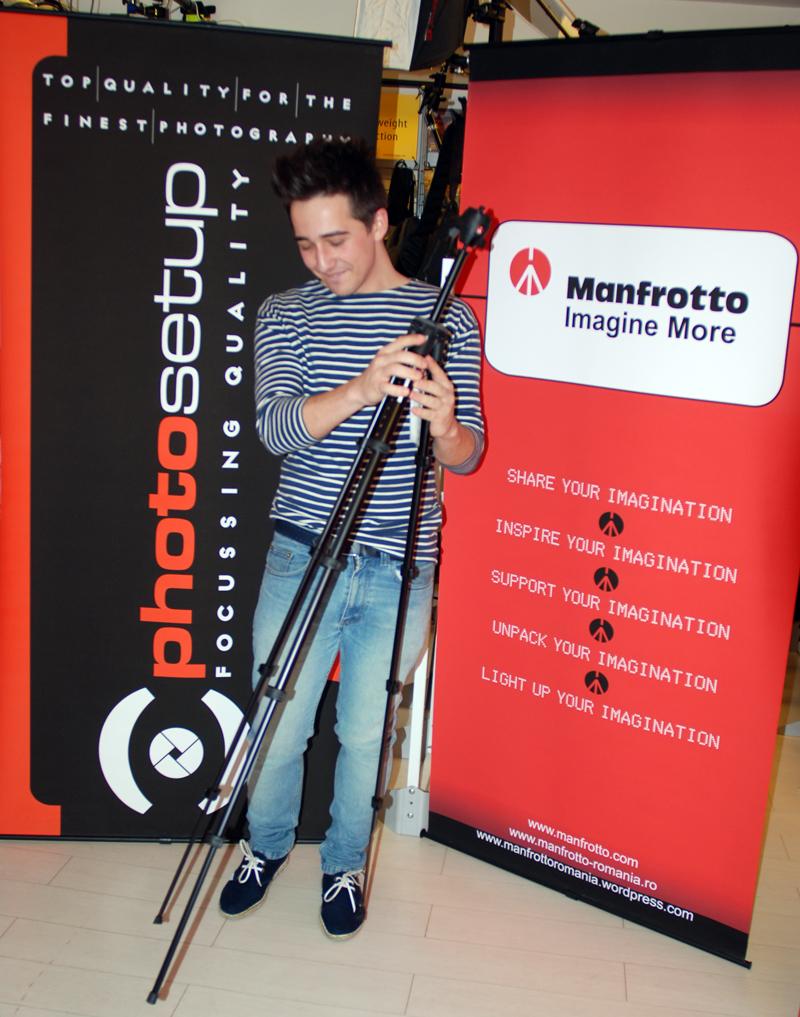 Anechitoaie Adrian-Ilie a primit astazi trepiedul Manfrotto Modo!