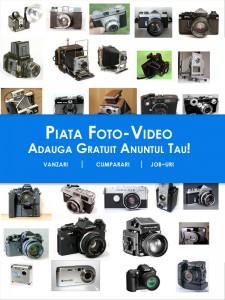 Anunturi de vanzare / cumparare aparatura foto si video