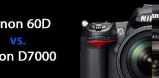 Canon 60D vs. Nikon D7000