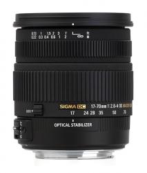Sigma 17-70mm f/2.8-4
