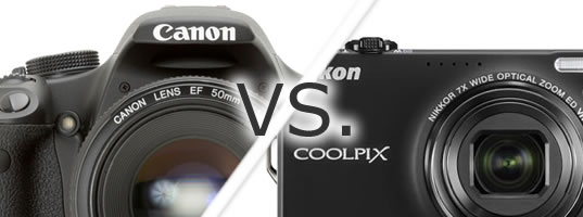 DSLR versus Compact