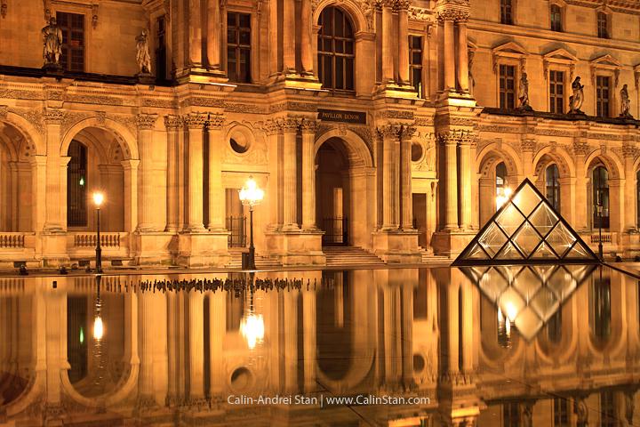 Muzeul Louvre, Paris - Filtru ND pentru prelungirea expunerii