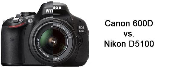 Canon 600D vs. Nikon D5100