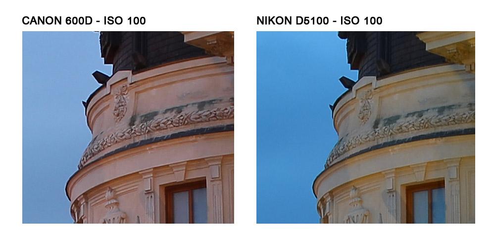 ISO 100 - Click pentru zoom 100%