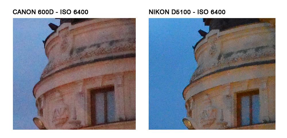 ISO 6400 - Click pentru zoom 100%