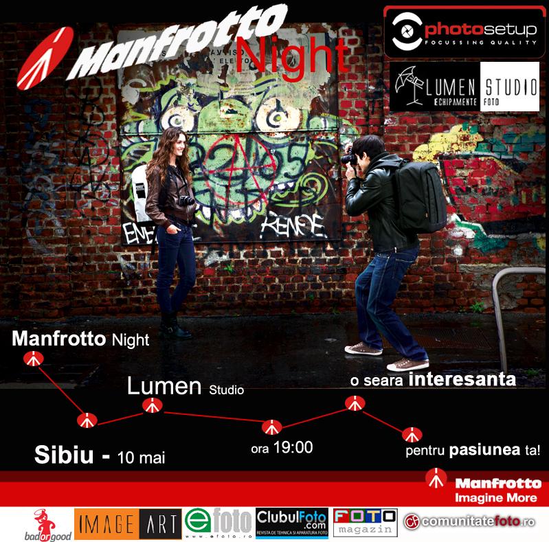 Manfrotto Night la Sibiu