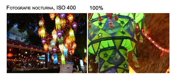 Fotografie nocturna, ISO-400