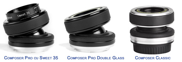 Lensbaby Composer Classic si Pro