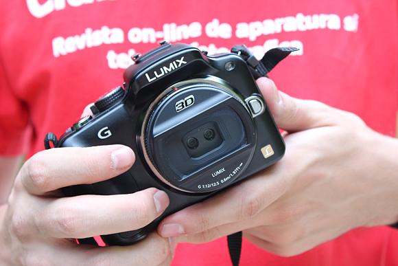 Panasonic G3 cu obiectivul 3D