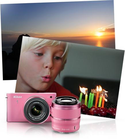 Nikon J1 Roz :)