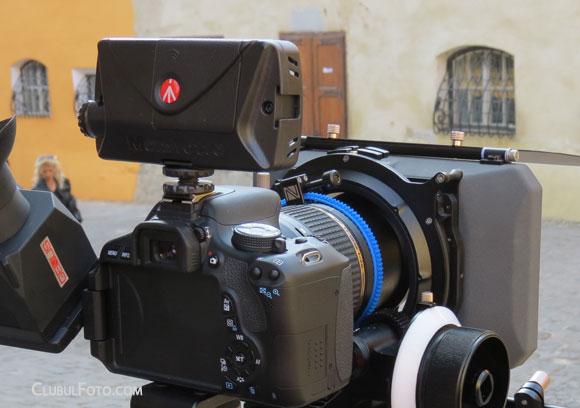 Filmand cu panoul cu LED-uri Manfrotto