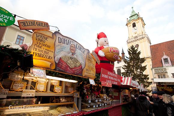 Bratislava - Piata de Craciun