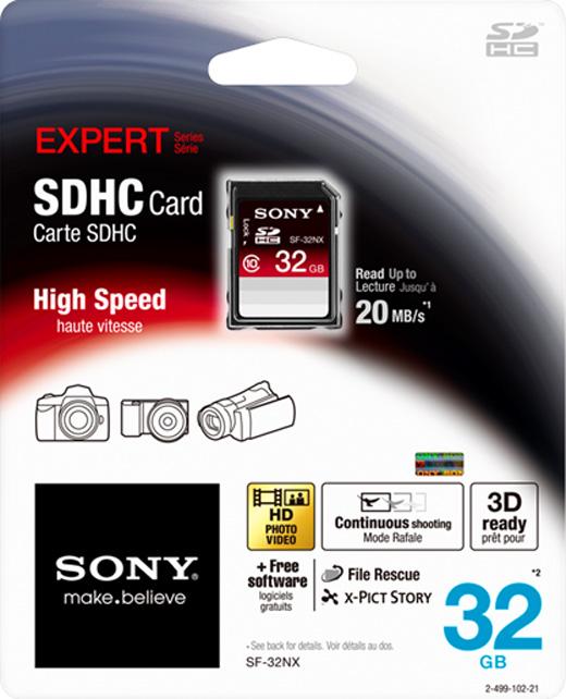 Sony SDHC 32GB