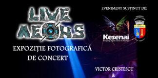 Expoziţia LIVE AEONS din Cluj-Napoca