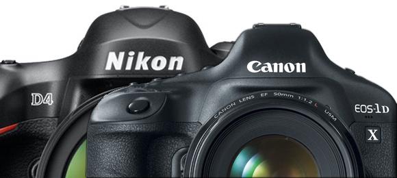 Canon 1D X vs. Nikon D4