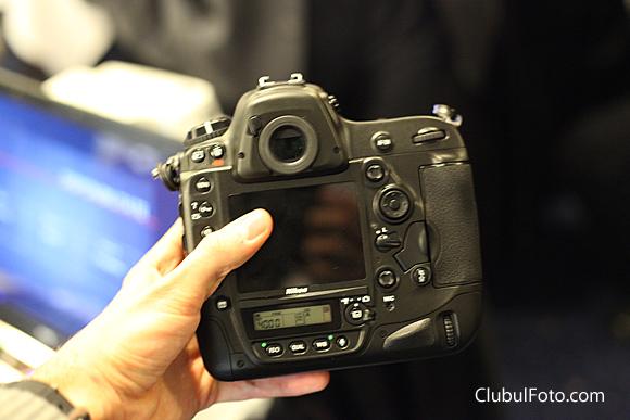 Nikon D4 la Bucuresti