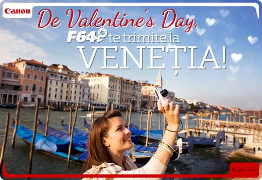Concurs Canon Venetia. Click pentru detaliile campaniei.