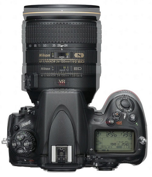 Nikon D800 vs Nikon D700: Dimensiunile exterioare