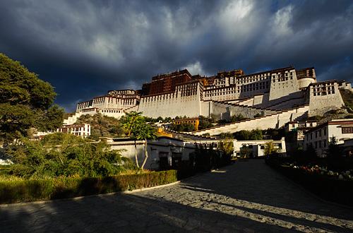 Tibet, Lhasa - Potala Palace