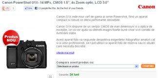 Canon G1X - Click pentru detalii