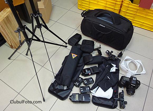 Kitul pentru fotografii de produs
