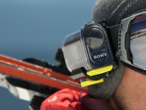 Prima action camera de la Sony