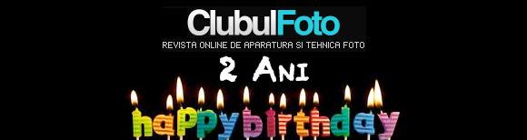 Doi ani alaturi de Clubul Foto!