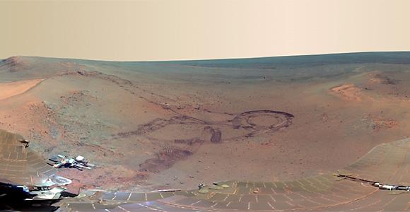 NASA: Panorama planetei Marte