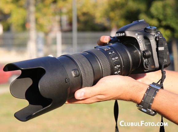 Nikon D600 are un body compact, dar pentru care va recomand un grip daca vreti sa il utilizati cu obiective voluminoase
