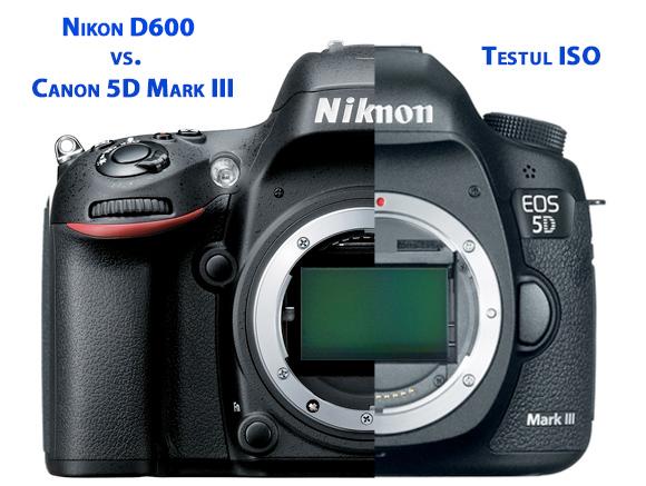 Nikon D600 vs. Canon 5D Mark III - ISO Test