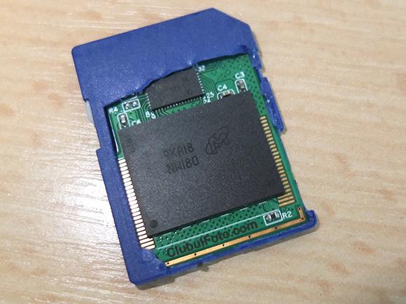 Card SD AData Desfacut