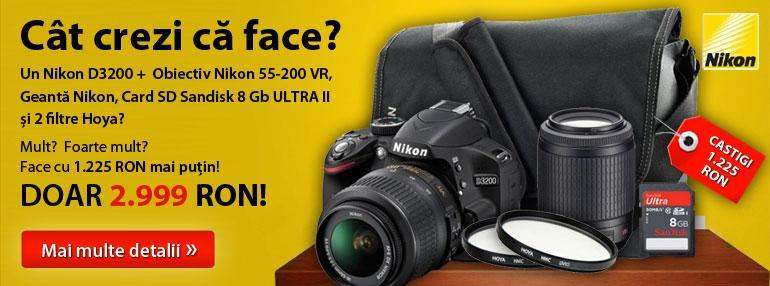 Promotie Nikon D3200
