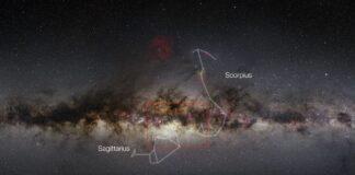 Calea Lactee fotografiata intr-o panorama de 9 gigapixeli