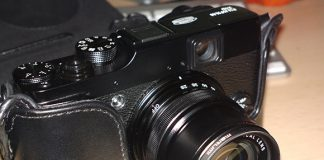 Filtrul Marumi 40mm pe Fuji X10