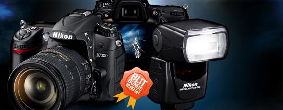 Promotie Nikon D7000 cu obiectiv si blitz cadou