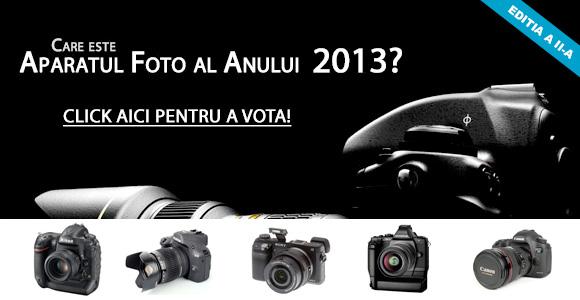 Concurs: aparatul foto al anului 2013