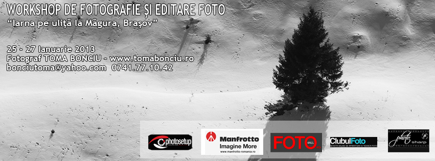 Workshop Foto de Iarna la Magura
