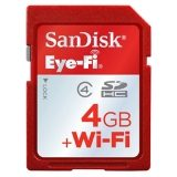 Card Eye-Fi Sandisk 4GB