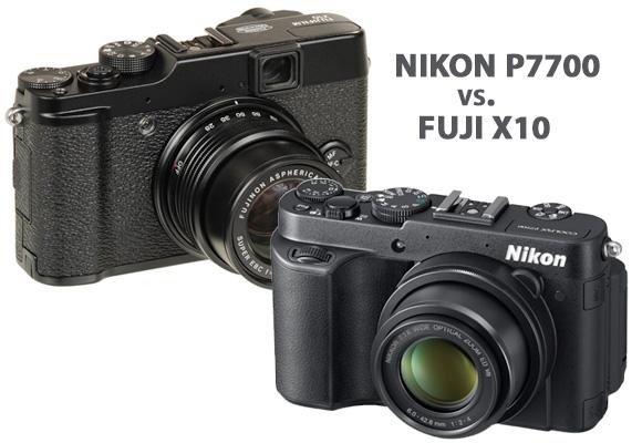 Nikon P7700 vs. Fuji X10