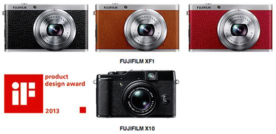 Fuji X10 si XF1 la IF Design Awards 2013