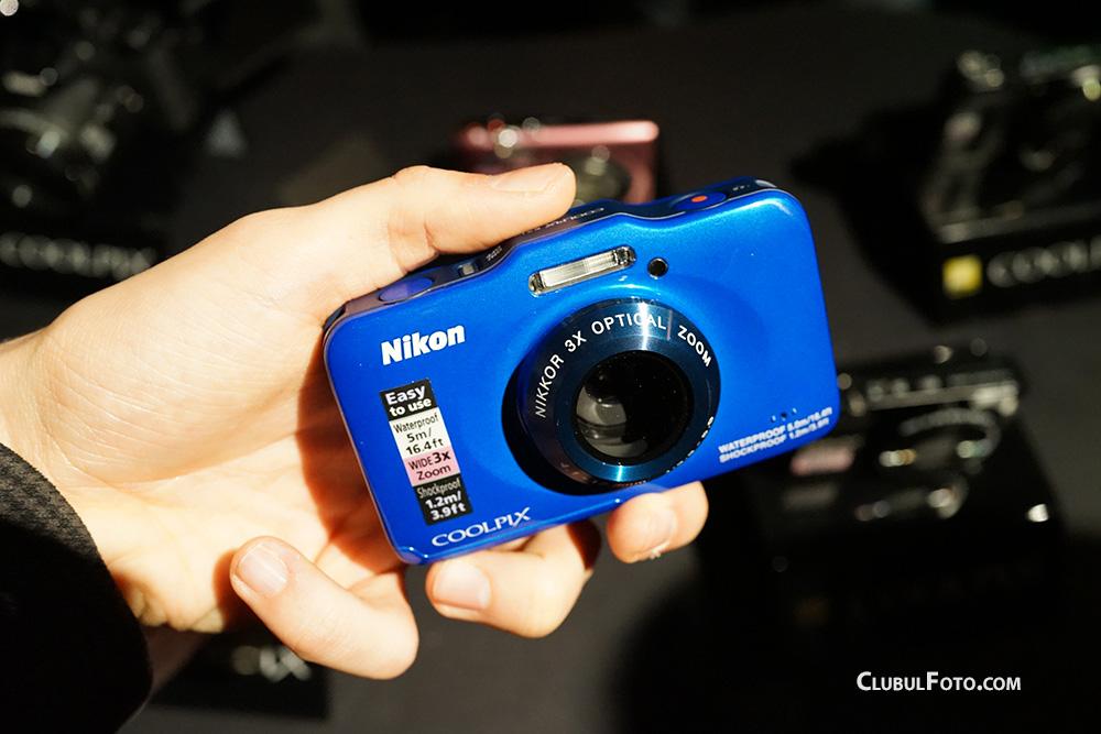 Nikon S31, un aparat foto pentru copii